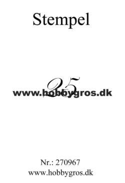 Hobby Gros – Stempel – 25