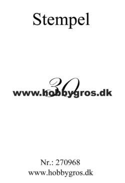 Hobby Gros – Stempel – 30