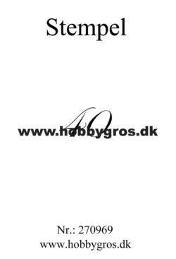 Hobby Gros – Stempel – 40