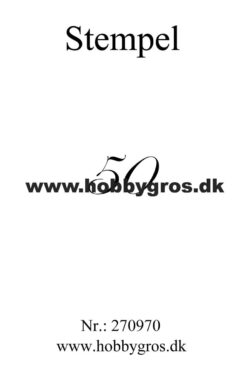 Hobby Gros – Stempel – 50
