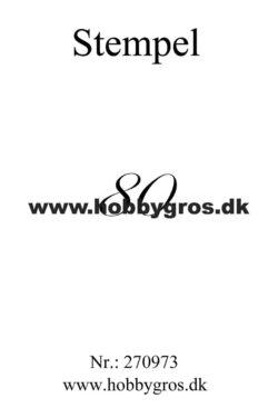 Hobby Gros – Stempel – 80