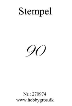 Hobby Gros – Stempel – 90