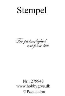 Hobby Gros – Stempel – Citat