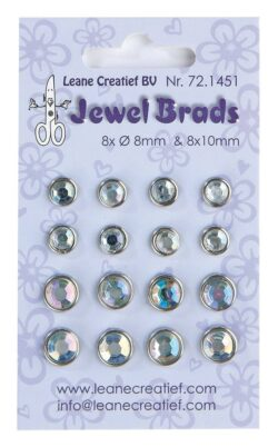 Leane Jewel Brads – Crystal