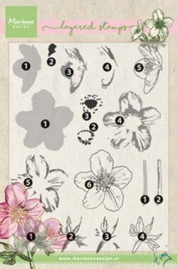 Marianne Design – Layerd Stamp – Tiny's HELLEBORUS