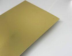 Metalkarton Guld på begge sider