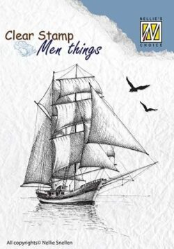NELLIE SNELLEN – Stempel – Sailingboat