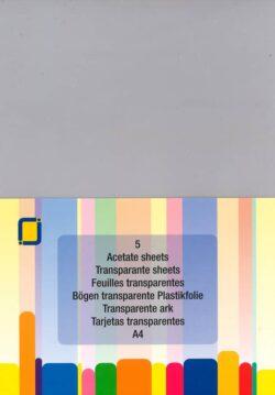 Acetate / Transperant 5 ark