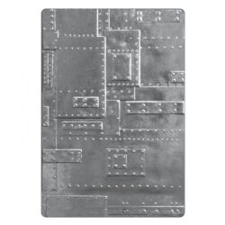 SIZZIX/TIM HOLTZ 3D EMBOSSINGFOLDER A6 – Rivets