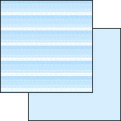 Hobby Gros – Scrapark- 30,5 x 30,5 cm – Babyblue