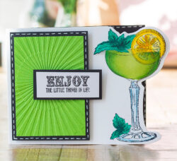 Gemini Die & Stamp Cocktail time