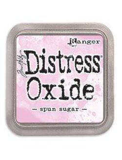 Distress Oxide spun sugar