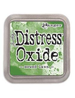 Distress Oxide mowed lawn