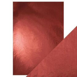Craft Perfect – Spejlkarton High gloss- Opera Red A4