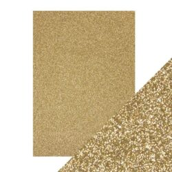 Craft Perfect – Glitterkarton – Gold dust
