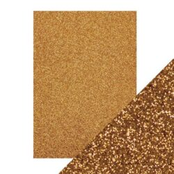 Craft Perfect – Glitterkarton – Welsh Gold