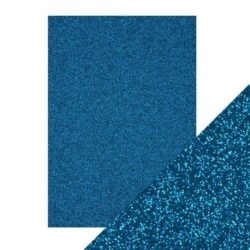 Craft Perfect – Glitterkarton – Midnight Topaz