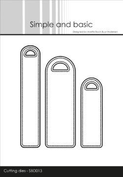 Simple and Basic die – Pierced Labels