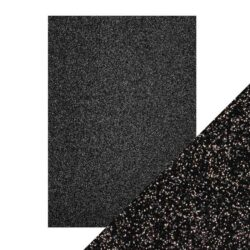 Craft Perfect – Glitterkarton – Black Sapphire