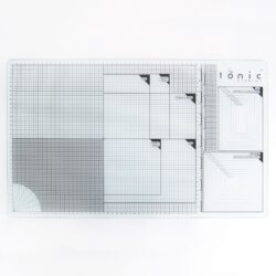 Tonic Studios glass cutting mat 60×36,5cm A3