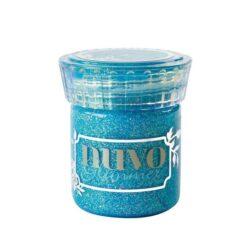 Tonic Studios Nuvo glimmer paste blue topaz