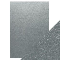 Craft Perfect – Luxury Embossed Card – Ice Grey Glacier – A4