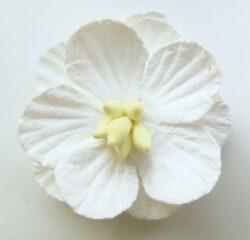 Marianne Design hvid blomst 6 stk