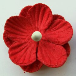 Marianne Design decoration paper flowers 20mm red