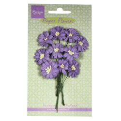 Marianne Design decoration daisies – mørk lavendel