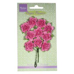 Marianne Design Små papir nelliker i pink
