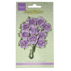 Marianne Design Små papir nelliker i lys lavendel