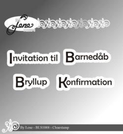 BY LENE STEMPEL – Invitation