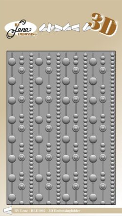 BY LENE 3D EMBOSSINGFOLDER – Dots