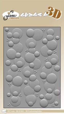 BY LENE 3D EMBOSSINGFOLDER – Bubbles