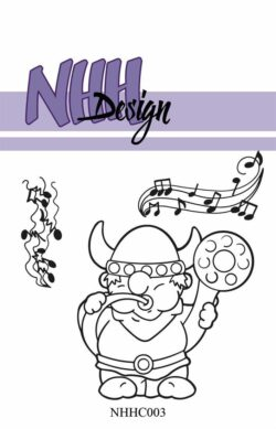 NHH Design Stempel – Singing Viking