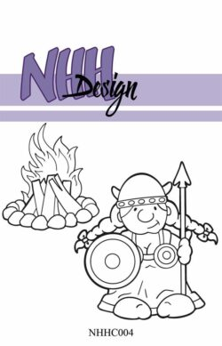NHH Design Stempel – Viking Woman