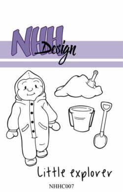 NHH Design Stempel – Little Boy Exploring