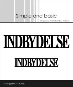 Simple and Basic die – Indbydelse