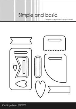 Simple and Basic die – Base tag m/tilbehør