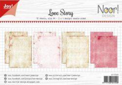 JOY PAPIRSBLOK – A4 – Love Story