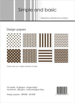 Simple and Basic –  Paperpad – A6 – SBP008