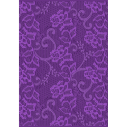 Crafter's Companion 3D Embossingfolder – Chantilly Lace