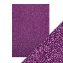 Craft Perfect – Glitterkarton – Nebula purple