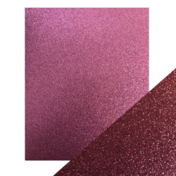 Craft Perfect – Glitterkarton – Berry fizz