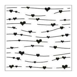 Stencil – Hjerter