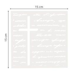 Stencil – Stort kors