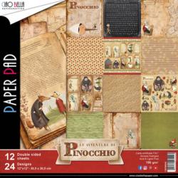 Ciao Bella Paper Pad – 30,5×30,5 cm – Adventure di Pinocchio