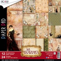 Ciao Bella Paper Pad – 30,5×30,5 cm – La Traviata