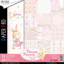 Ciao Bella Paper Pad – 30,5×30,5 cm – Ninna Nanna Girl