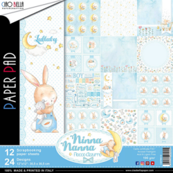 Ciao Bella – PaperPad – 30,5×30,5 cm – Ninna Nanna Boy
